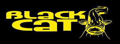 Black Cat zwarte fleecejogger maat M op=op