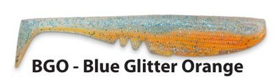 Iron Claw Moby Softbaits Racker shads 10,5 cm BGO