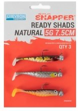 Snapper ready shads Natural 8gr 10 cm, 3st
